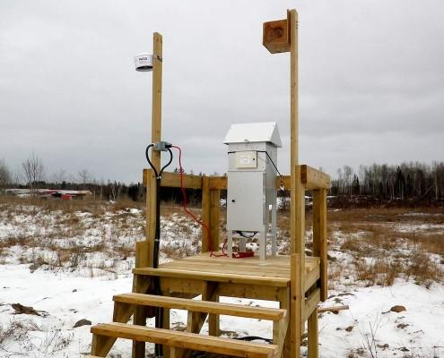 air monitoring station