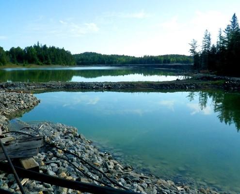 Tailings pond