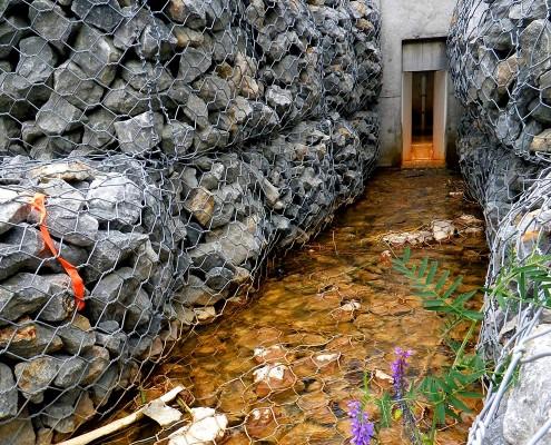 Mining effluent
